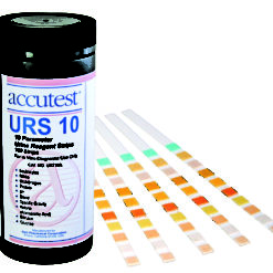 UA710A Accutest URS-10 Urine Reagent Strips