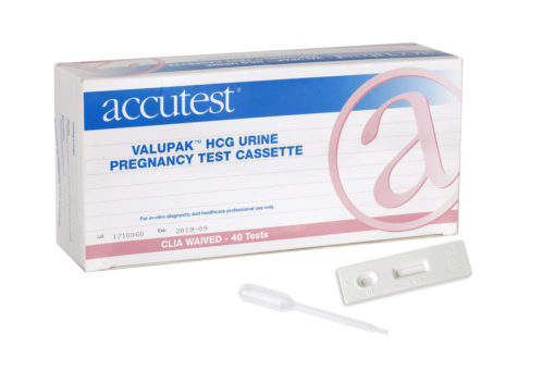 Accutest® ValuPak™ Pregnancy Test (Cassette)