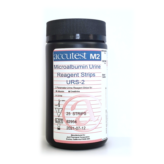 Accutest® Microalbumin Urine Reagent Strips
