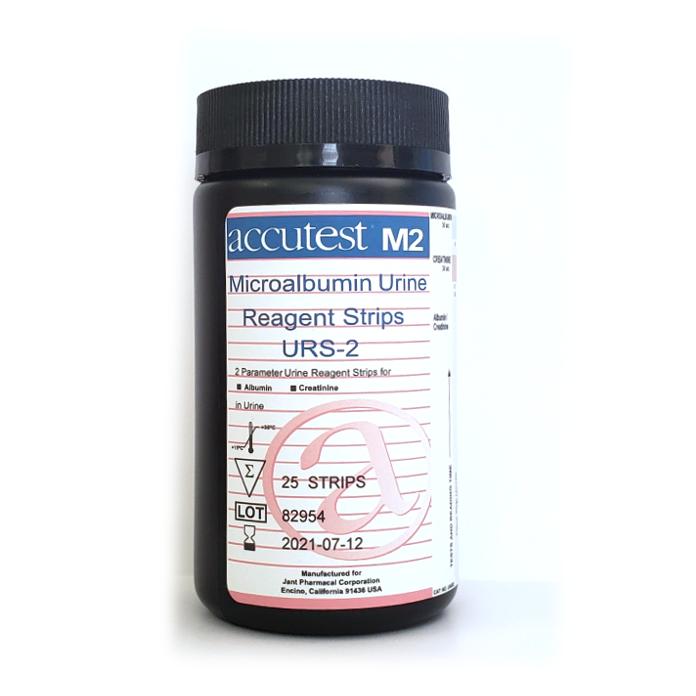 Accutest® Microalbumin Urine Reagent Strips